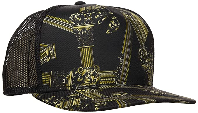 ca205dab210d VERSACE JEANS COUTURE Men's Hat Baseball Cap, Black (Nero 899), One (Size:  NR): Amazon.co.uk: Clothing