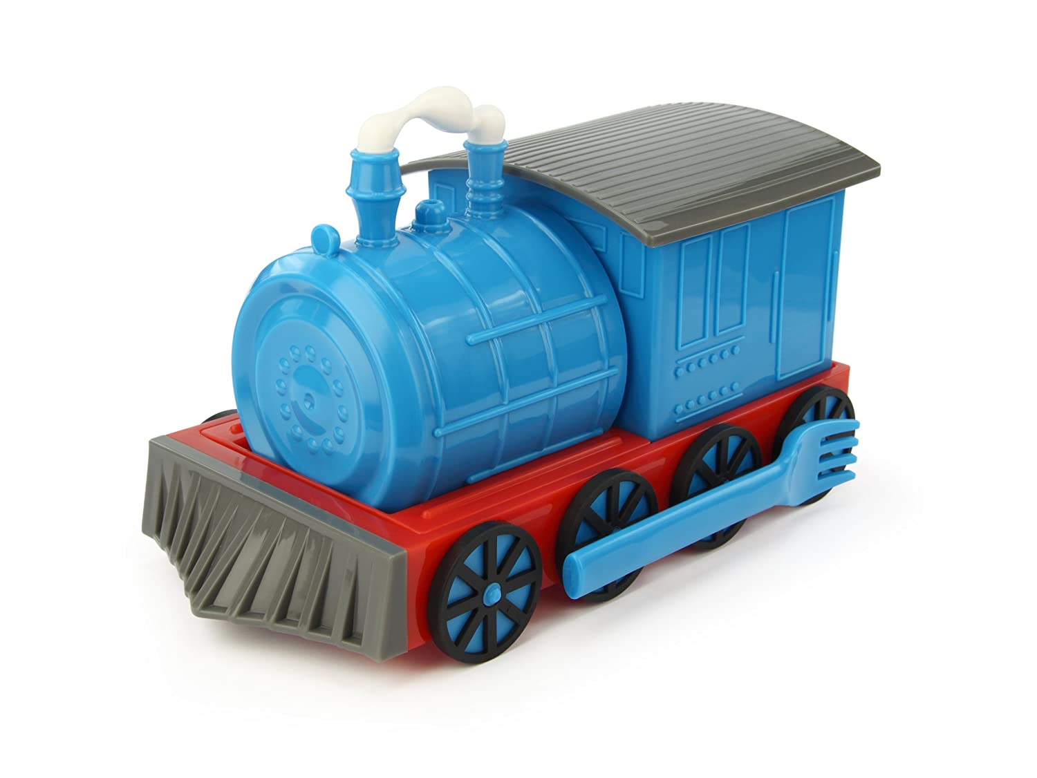 Amazon.com: KidsFunwares Chew Chew Train Place Setting, Blue   Transforms  From A Train Into A Functional Meal Set   Includes Bowl, Small Plate,  Plate, Fork, ... Awesome Ideas