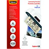 Fellowes 5396501 Pochettes de plastification A3 125 microns par 25