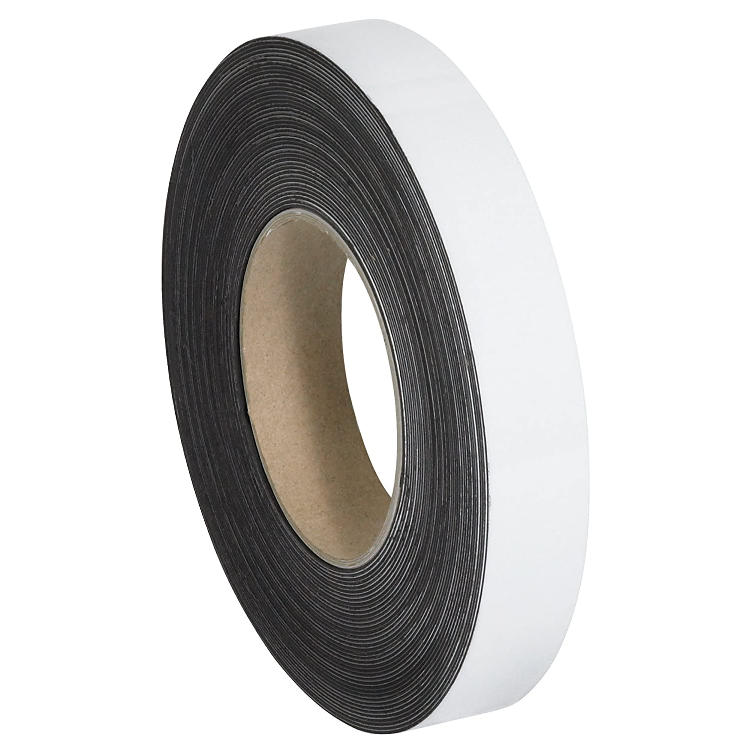 Aviditi 1 Inch x 50 Large special price !! Feet On Max 50% OFF Roll White Write Magnetic Flexible