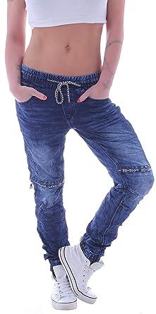 Boyfriend Pants Style Damen Unisex Hose Station Harems Baggy Jeans roWdCxBe