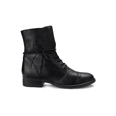 1a03ab428b9528 Cox Damen Damen Schnür-Boots aus echtem Leder