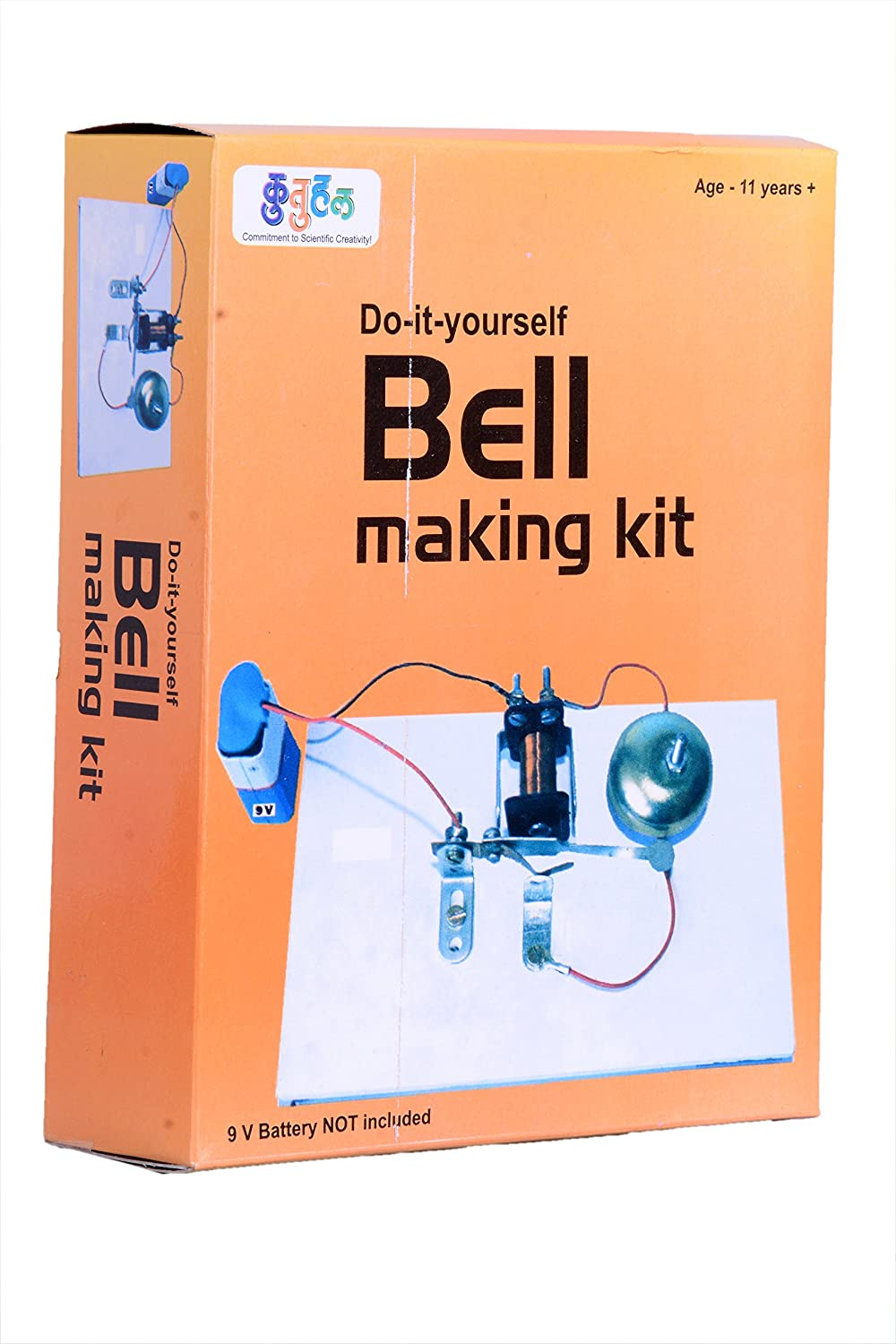 Electronics learning kits online buy electronics learning kits for a13 electric bell making kit do it yourself educational toy science project solutioingenieria Image collections