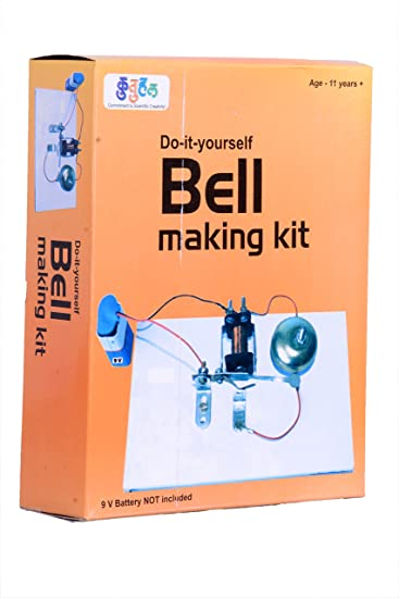 Buy a13 electric bell making kit do it yourself educational toy a13 electric bell making kit do it yourself educational toy science project solutioingenieria Image collections