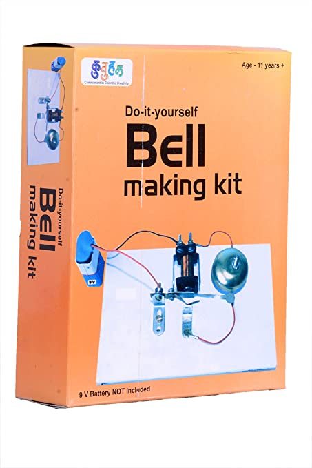 Buy kutuhal electric bell making kit do it yourself educational kutuhal electric bell making kit do it yourself educational toy science project solutioingenieria Gallery
