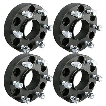 4pcs 1.5 38 mm 6 x 5,5 hubcentric Rueda Adaptadores Espaciadores X 14 X
