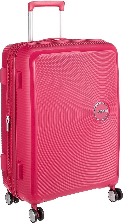American Tourister - Soundbox Spinner Expandible, 67cm, 71,5/81 L - 3,7 KG, Rosa (Lightning Pink)