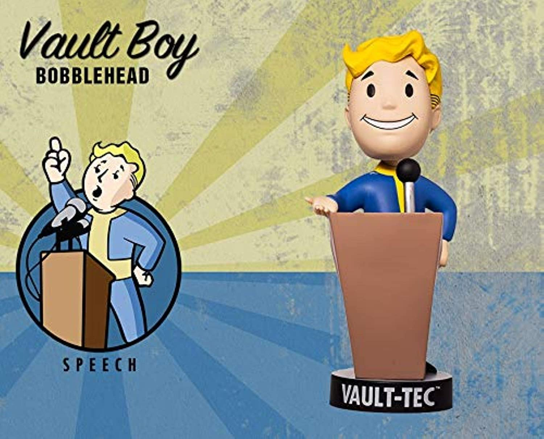 Speech Series Two Fallout 4 Vault Boy 111 Vault-Tec Bobblehead ...