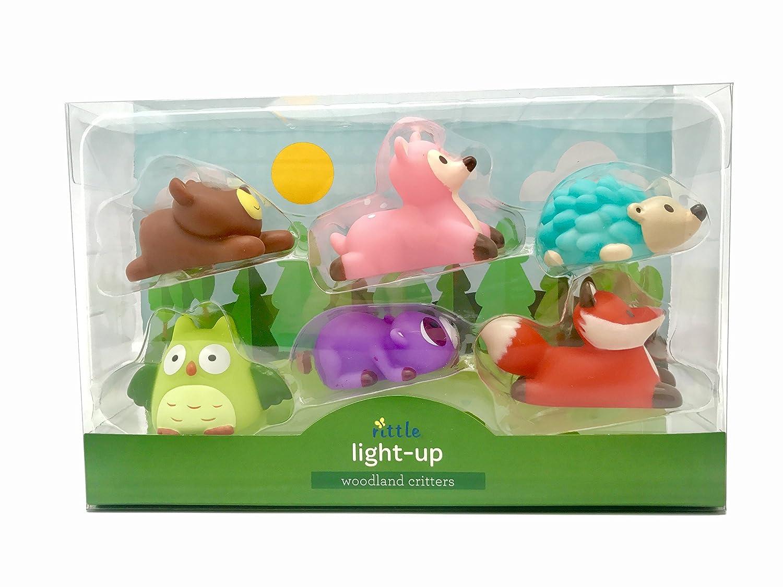 Amazon.com: Rittle Woodland Critters, Cute Floating Light-up Bath ...