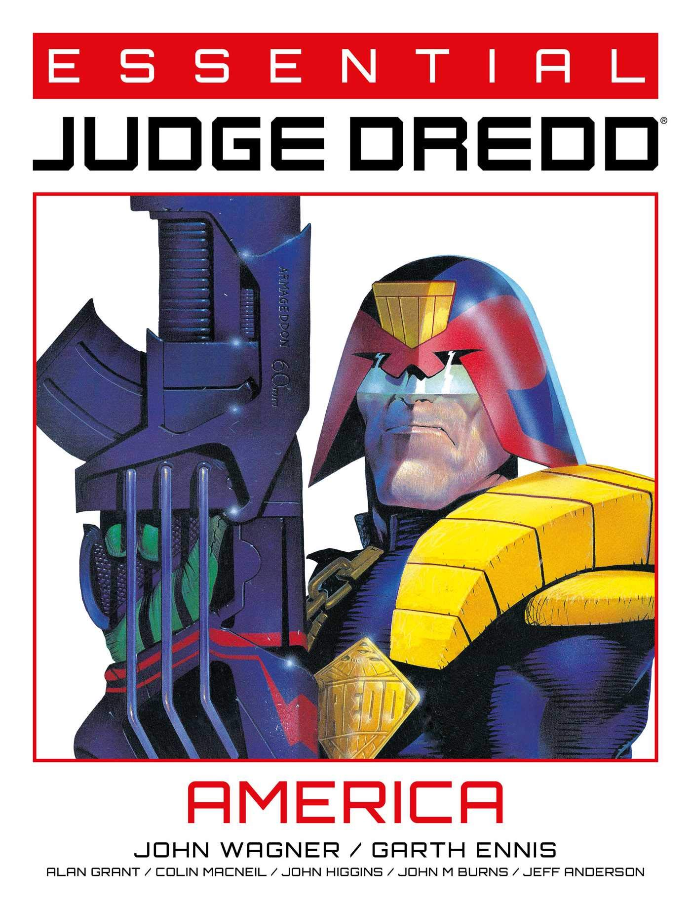 Essential Judge Dredd: America (1): Wagner, John, Ezquerra, Carlos:  9781781088609: Amazon.com: Books