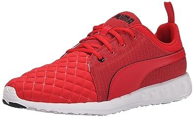 PUMA Mens Carson Runner Quilt Running Shoe High Risk RedBlack