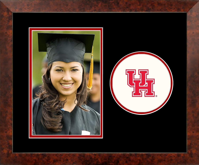 Campus Images TX954SLPFV University of Houston Spirit Vertical Photo Frame