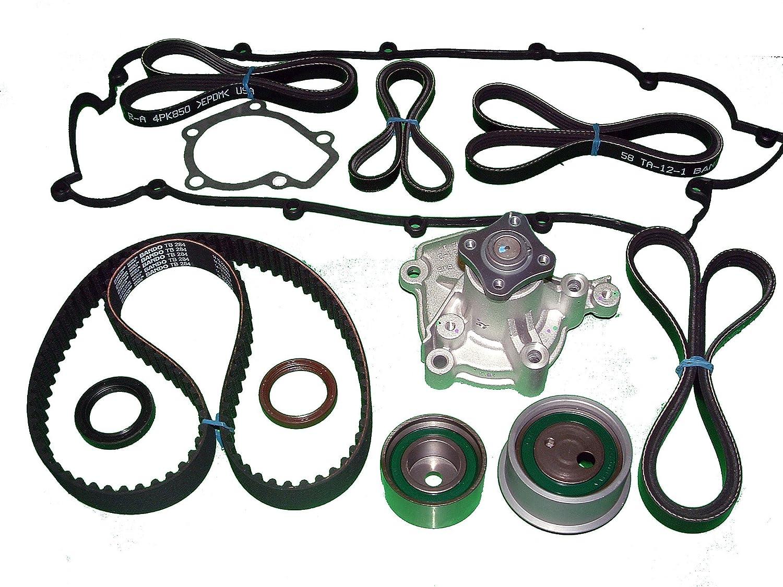 TBK correa dentada para Hyundai Tucson 4 cilindros (modelos de 2005 a 5/14/2006: Amazon.es: Coche y moto