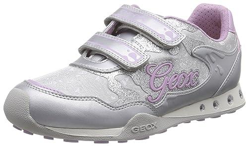 Geox Jr New Jocker Girl A, Zapatillas para Niñas
