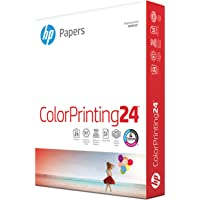 HP Printer Paper 8.5x11 ColorPrinting 24 lb 1 Pack 400 Sheets 97 Bright Made in USA FSC Certified Copy Paper HP…