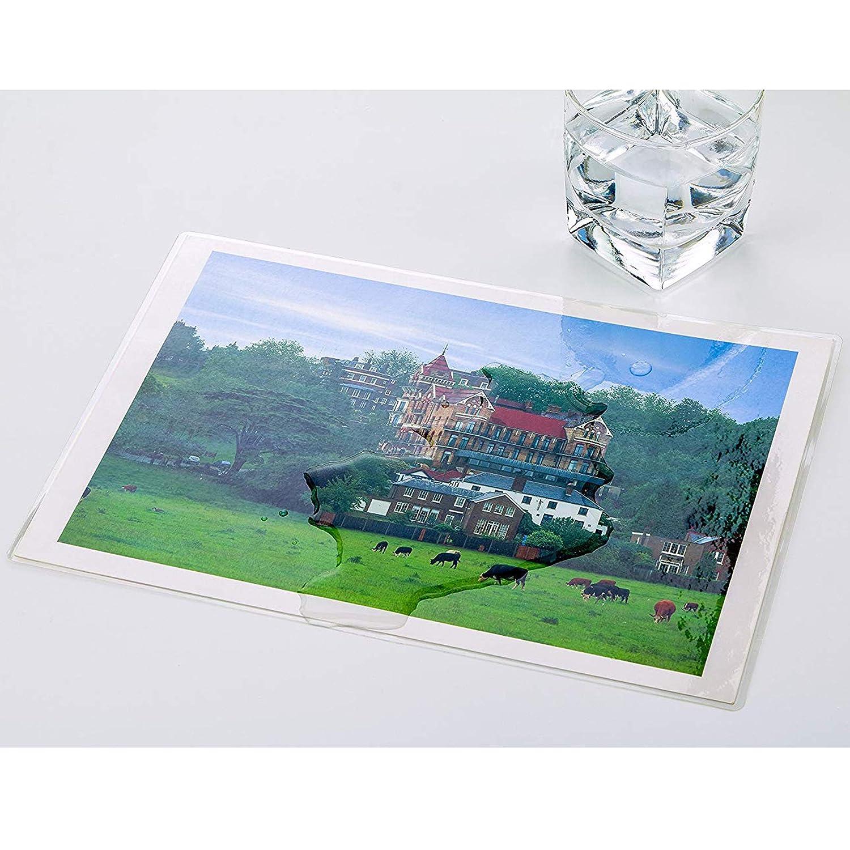 Liwute Imagelast 10,2/x 15,2/cm plastificatrice trasparente lucido 2/x 80/micron confezione da 100