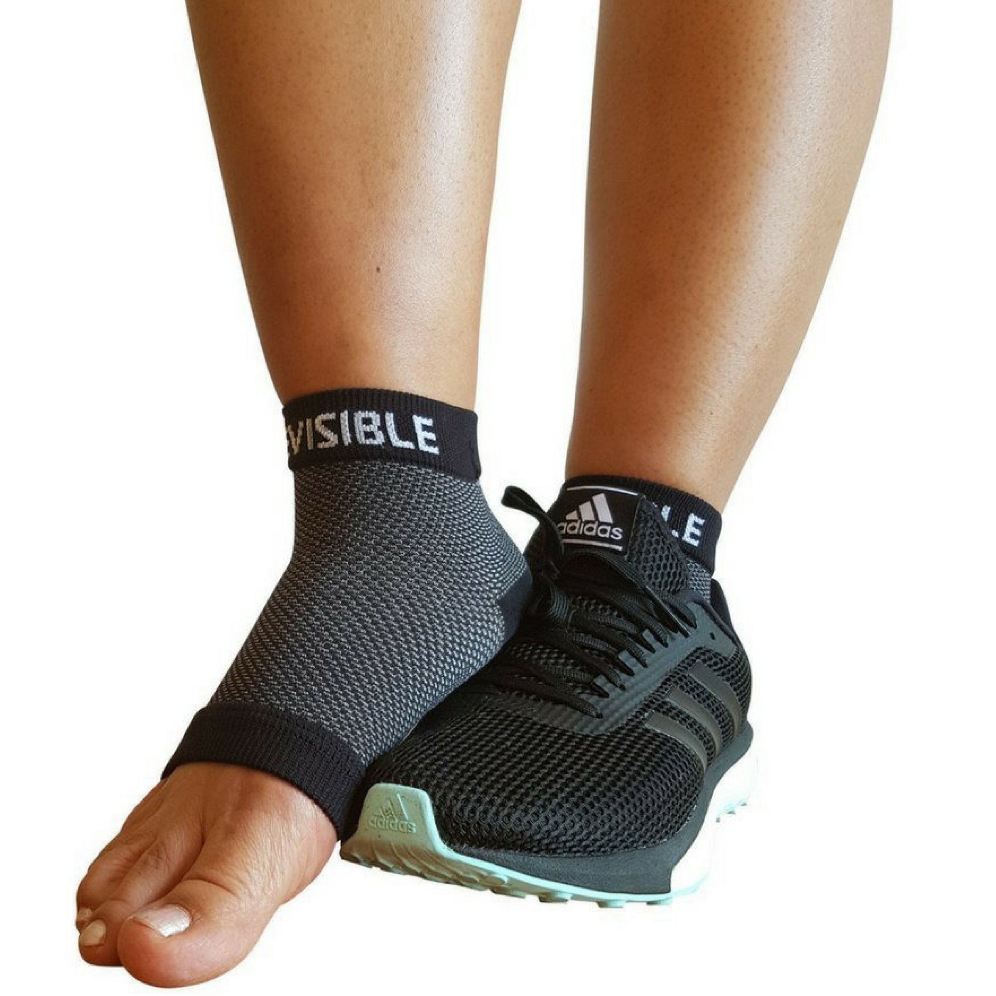 25039c60f2 ORIGINAL -Plantar Fasciitis Socks - Compression Foot Sleeves - BeVisible  Sports