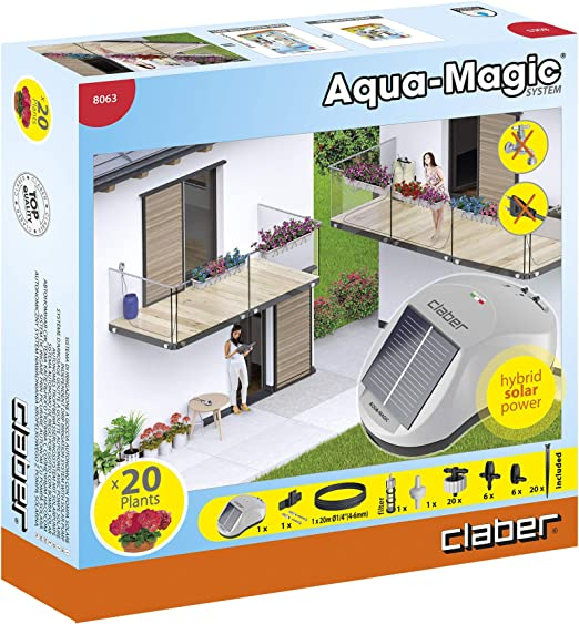 /Spare aqua-magic Drippers Claber d80640000/