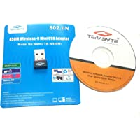 Terabyte 450Mbps 802.11n Wireless N USB Adapter for PC / Laptop