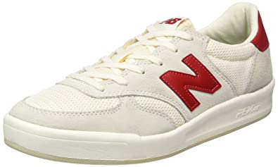 new style 255ec aba1c New Balance CRT300, Baskets Basses Homme, Blanc (White WR), 40 EU