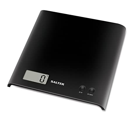 Amazon.com: Salter Black Electronic Platform Kitchen Scale: Digital Kitchen Scales: Kitchen & Dining
