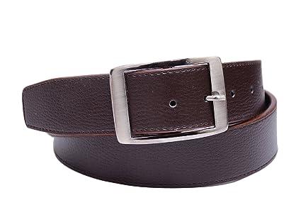 BAAZ Men Brown Synthetic Belt  BROWN  Men's Belts