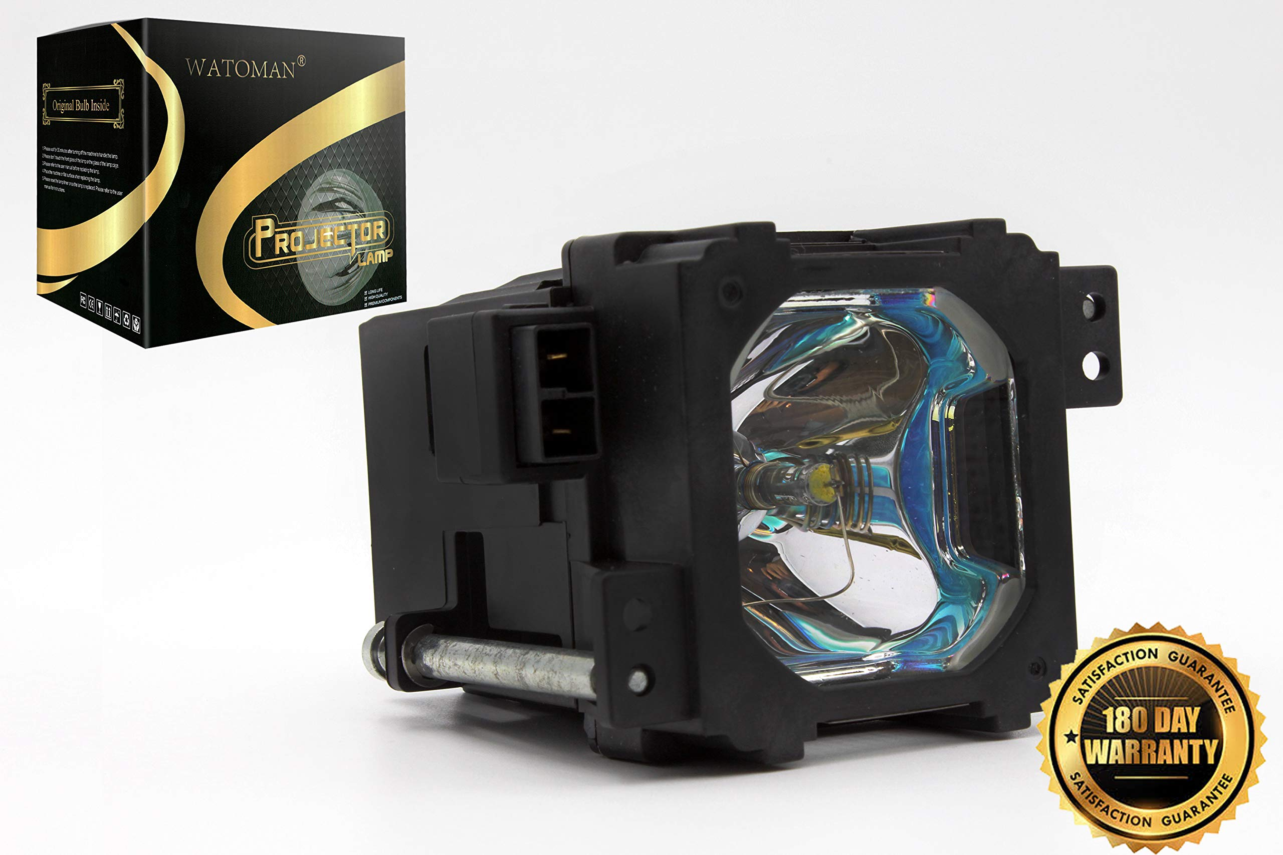Watoman BHL-5009-S Assembly Original Projector Lamp with Complete Housing for JVC DLA-RS1 DLA-RS2 DLA-RS1U DLA-RS2U DLA-HD1 DLA-HD10 DLA-HD100 DLA-HD1WE DLA-RS1X DLA-VS2000 Projectors