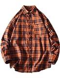 シャツ メンズ 半袖 ギンガムチェック柄シャツストライプチェックシャツ ネルシャツリネンシャツストレイプ 大きい オシャレ カジュアル ゆったり シャツ Glestore(グラストア)