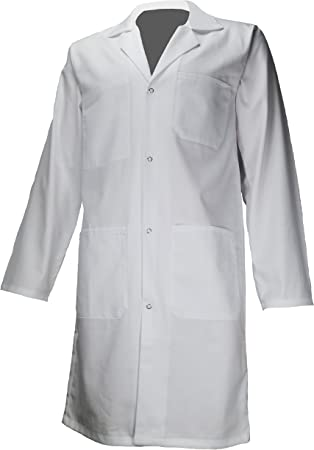 amawork PH ENFT bata blanca 100% algodón química laboratorio Medical niño College LYCEE 12 años – 14 años, blanco, PH ENFT 12A: Amazon.es: Bricolaje y herramientas