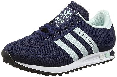 brand new a44a8 c87a0 Adidas La Trainer Em, Scarpe da Ginnastica Basse Unisex – Adulto, Blu ( Collegiate