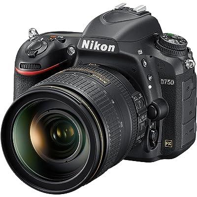 Nikon D750 Digital SLR Camera Body & AF-S 24-120mm f/4 G VR ED Zoom-Nikkor Lens