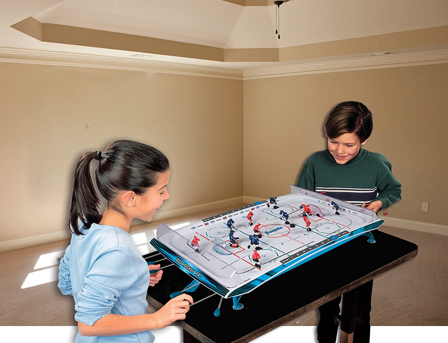 Franklin Sports Rod Hockey Pro : Air Hockey Equipment : Sports & Outdoors