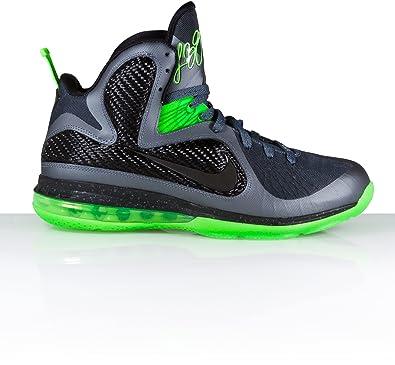Nike Lebron 9, Anthracite/Black/Volt Uk Size: 9.5