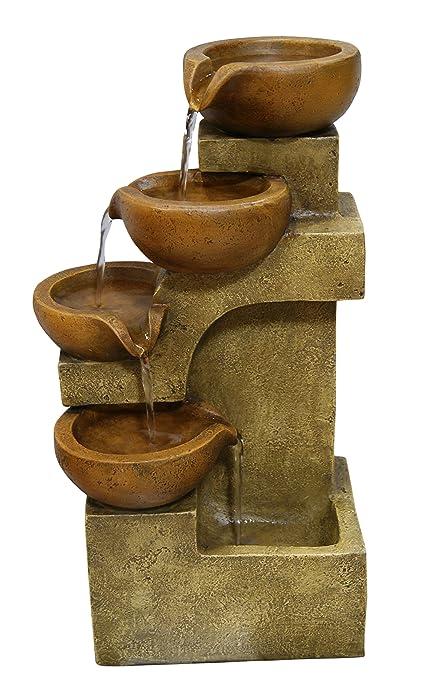 Amazon alpine tiering pots fountain indoor fountains alpine tiering pots fountain workwithnaturefo