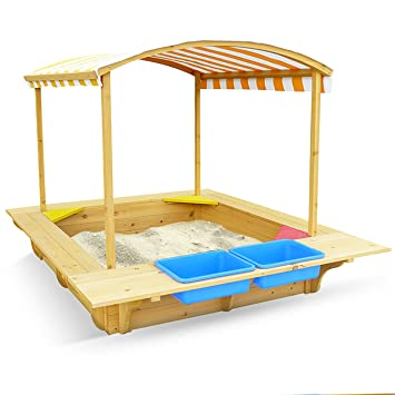 Outward Play Playfort Activity Sandbox with Canopy  sc 1 st  Amazon.com & Amazon.com: Outward Play Playfort Activity Sandbox with Canopy ...