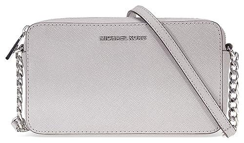 Michael Kors - Crossbodies, Carteras Mujer, Grau (Pearl Grey), 5x13x22 cm