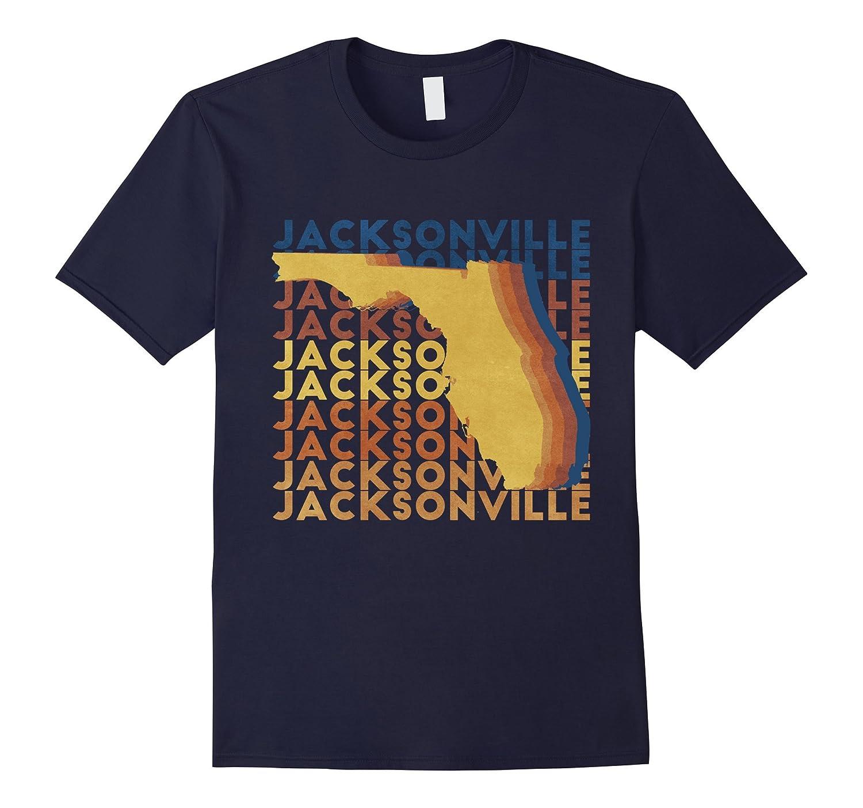 Jacksonville Florida T-Shirt Vintage Distressed Souvenir-TH