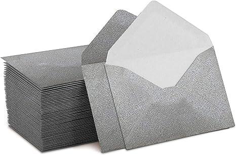 Amazon.com: Elegante mini sobres, 100 unidades. 4 x 2.75 ...