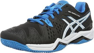 Asics Resolution 6 Clay, Zapatillas de Tenis para Hombre, Negro ...