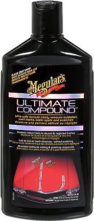 Meguiar's Ultimate Compound – Oxydation, marques de tourbillons, taches d'eau et rayures – G17216C