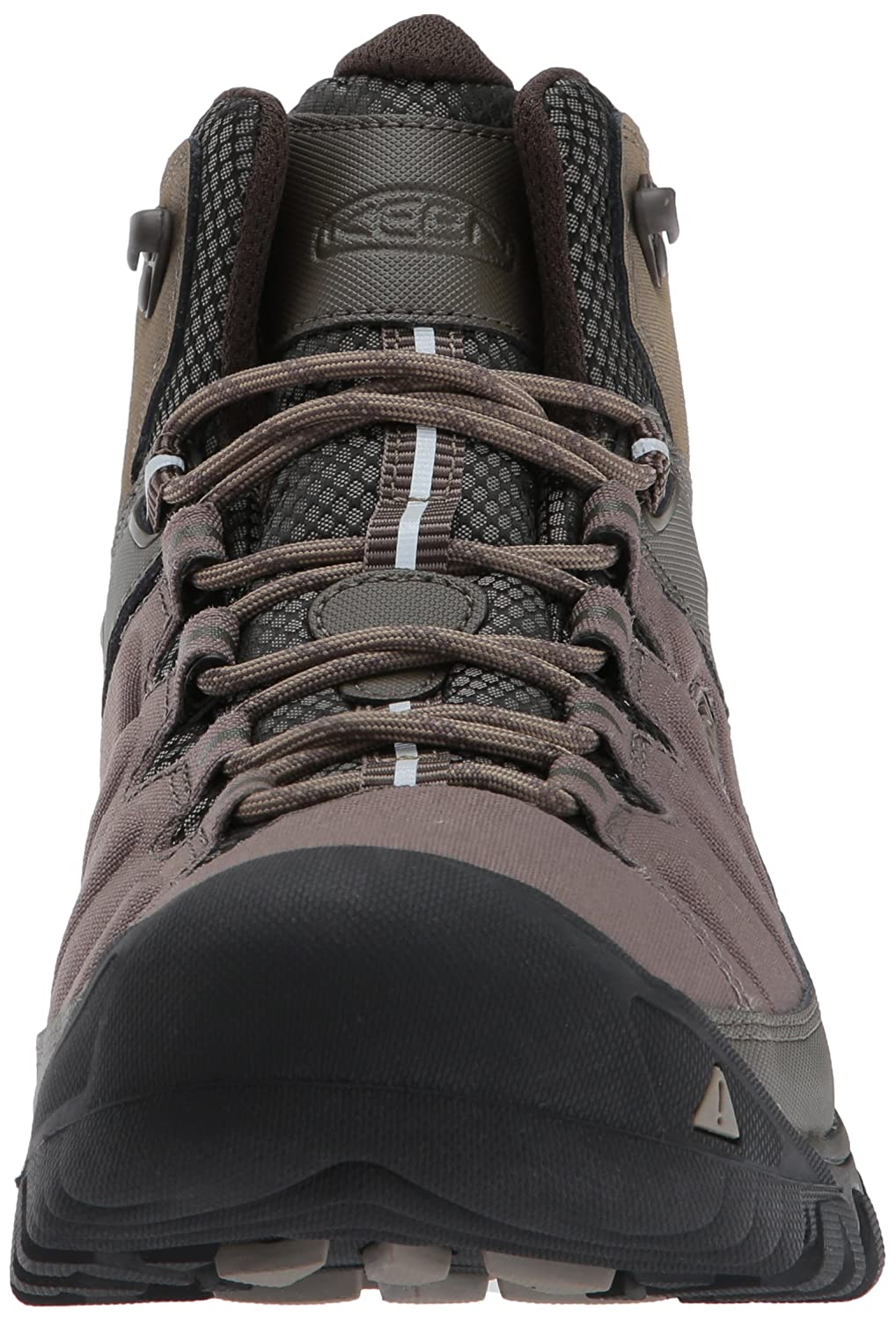 Amazon.com | KEEN Mens Targhee exp mid wp-m Hiking Boot, Bungee Cord/Brindle, 10 M US | Hiking Boots