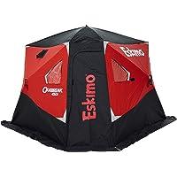 Eskimo Outbreak 450I Insulated Pop-Up Hub-Style Ice Fishing Shelter, Oversized Extra Large Door, 75 Square Feet of…