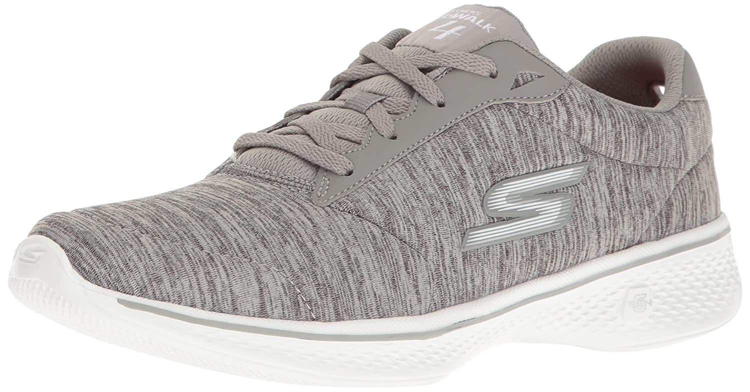 Skechers Damen Go Walk 4 Sneakers  37 EU|Grau (Gry)