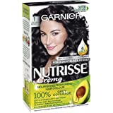 Garnier Nutrisse Permanent Hair Colour 1 Liquorice Black