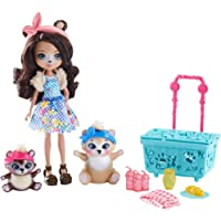 Enchantimals Vamos de picnic con Paws, muñeca