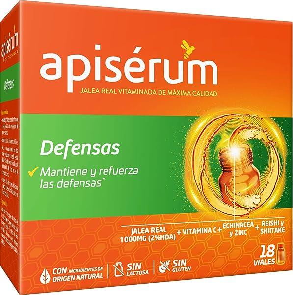 Apisérum Defensas Viales bebibles - Jalea Real con Vitamina C ...