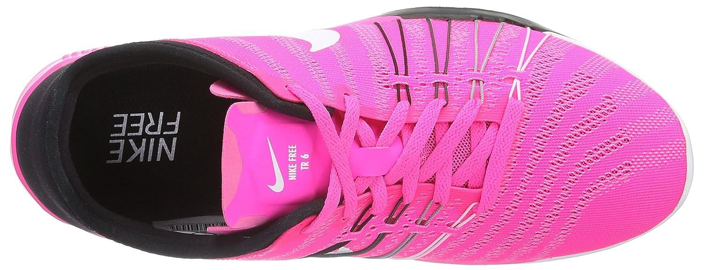 Womens Nike Free TR 6 Training Shoes B014GMYJOU 8.5 B(M) US|Pink Blast/Black/White