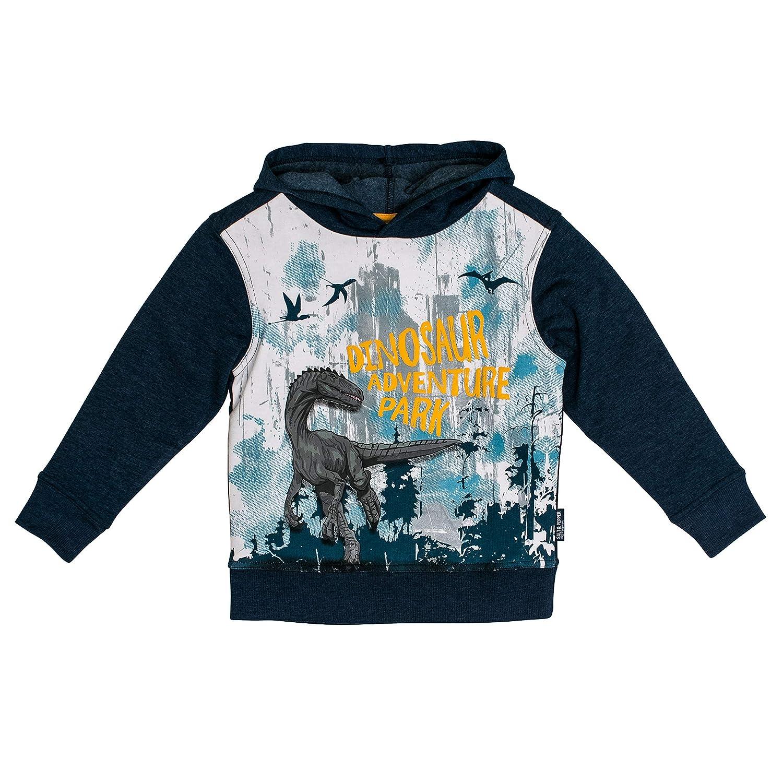 Streetwear Salt And Pepper Jungen Kapuzensweaty Trouble Maker Dino Adventure Park Sweatshirt Sport Freizeit Impas Es