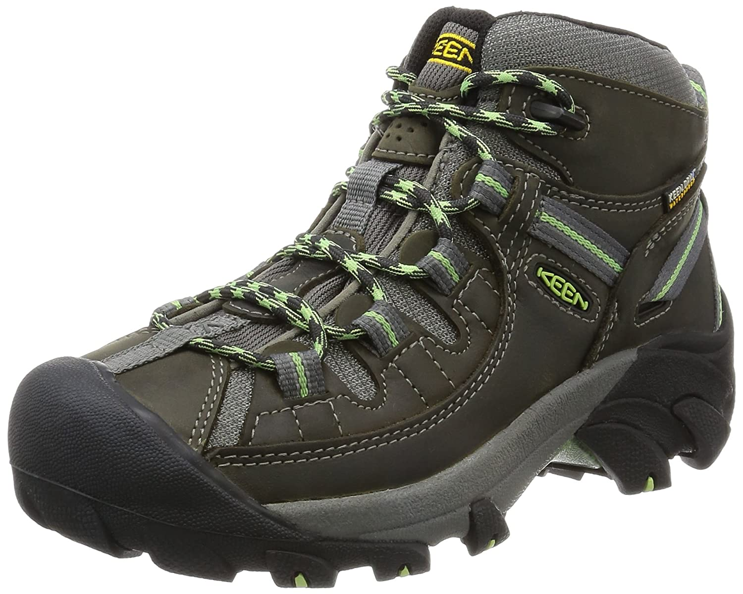 44ede751033 Amazon.com | KEEN Women's Targhee II Mid Waterproof Boot, Raven ...