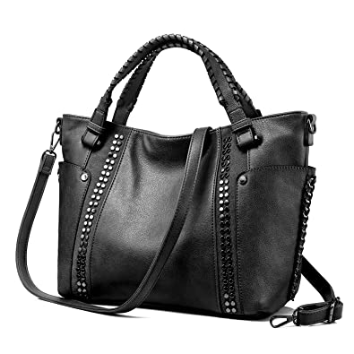 Amazon.com  Tote Bag for Women Large Faux Leather Purse and Handbags Ladies  Work Designer  Shoes 8457543bb44f8